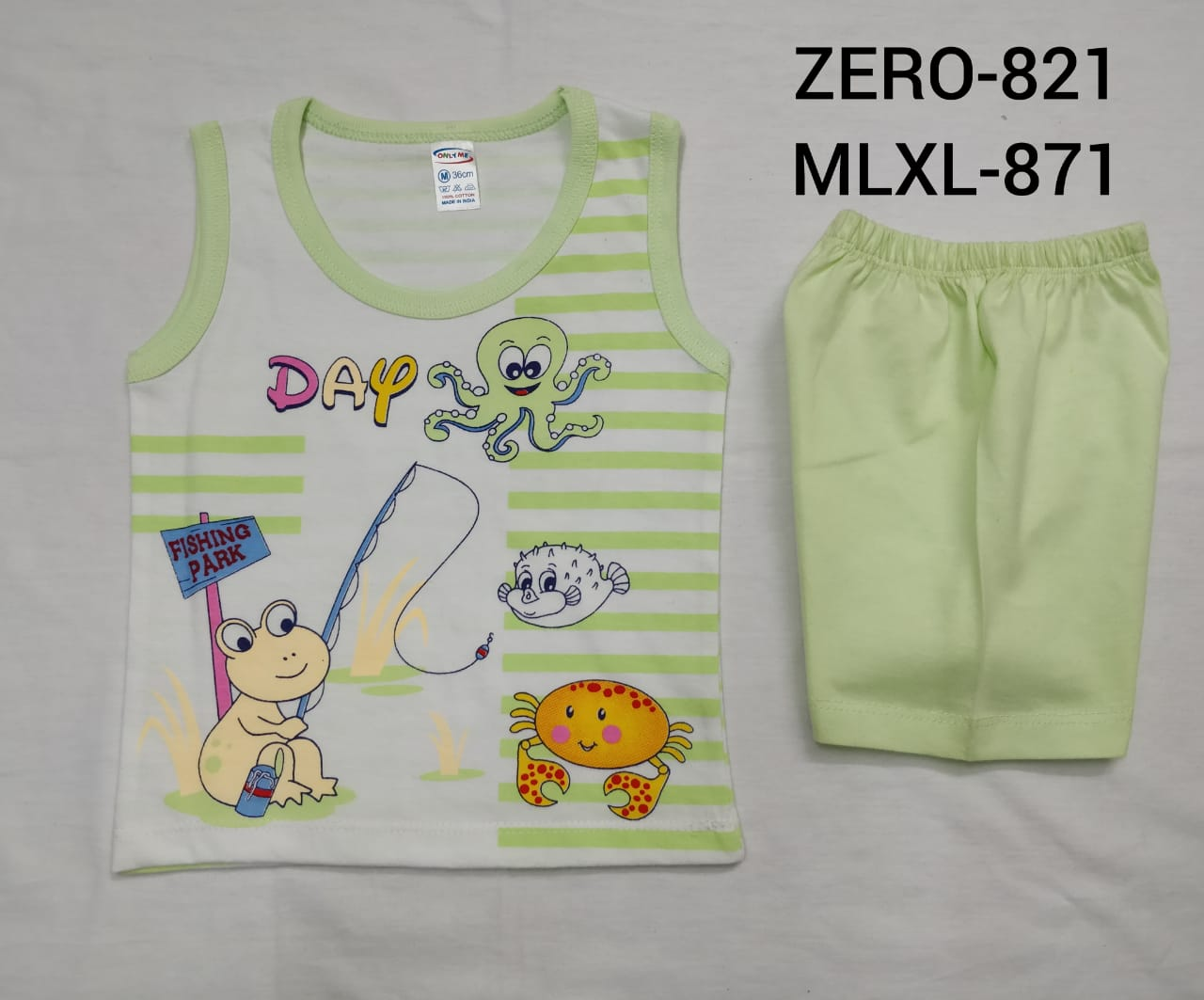 Only Me Boys Short Sleeve Vests And Shorts Set | Stunning Outfit For Your Cute Lil Prince | Pack Of 3 Sets (M(RPP-150))
