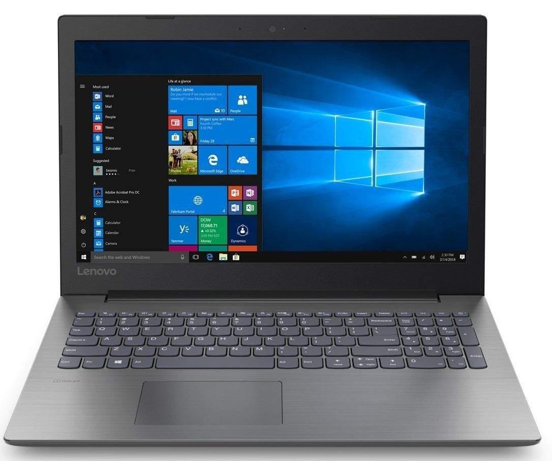 Lenovo Ideapad 330 Intel Pentium N5000 15.6-inchLaptop (4GB/500GB HDD/Windows 10 Home/Onyx Black/ 2.2kg), 81D100JCIN