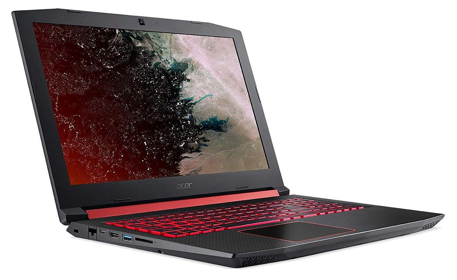 Acer Nitro Core I7 8th Gen 15.6-inch Gaming FHD Laptop (8GB/1TB HDD/Windows 10/4GB Graphics/Black/2.7 Kg), AN515-52