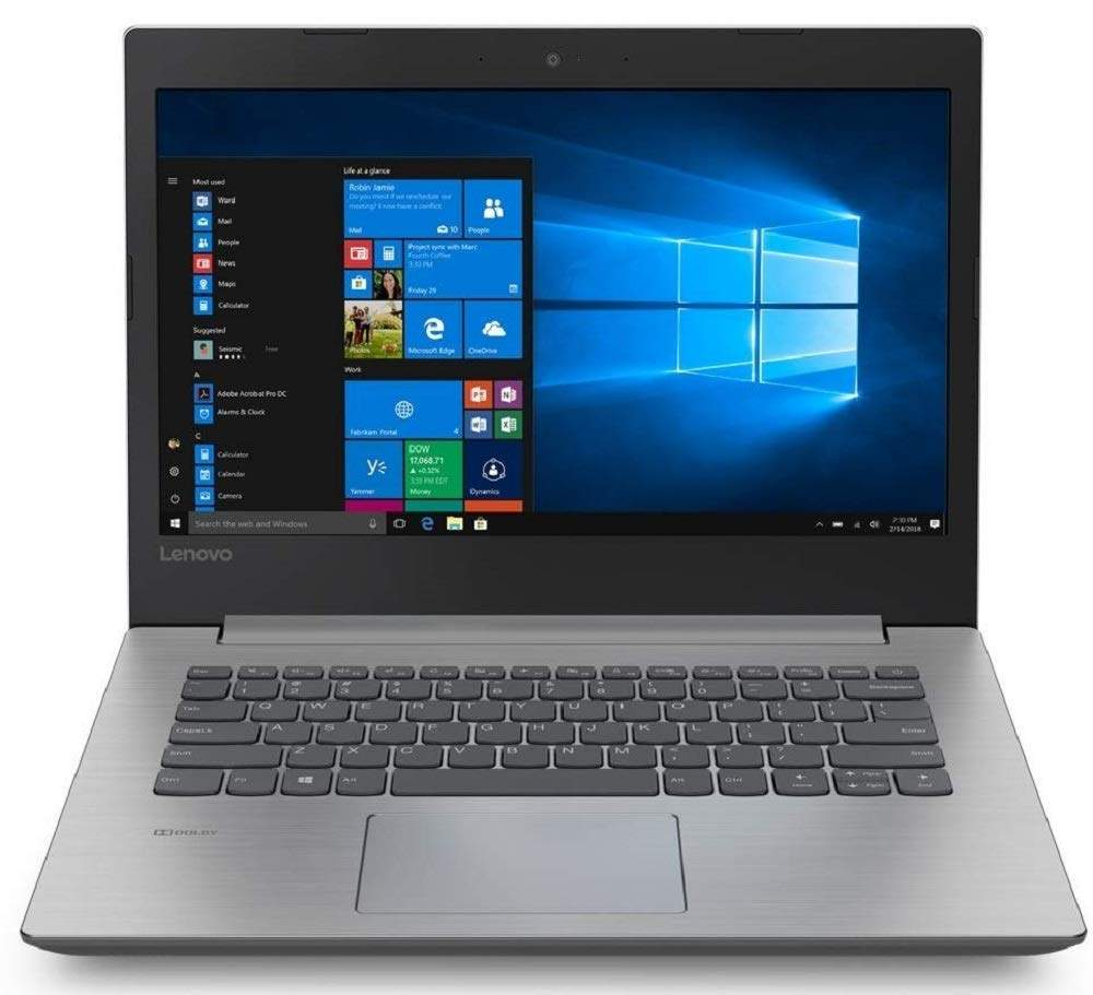 Lenovo Ideapad 330 AMD A6 14-inch Laptop (4GB/500GB HDD/Windows 10 Home/Platinum Grey/ 2.2kg), 81D5003HIN