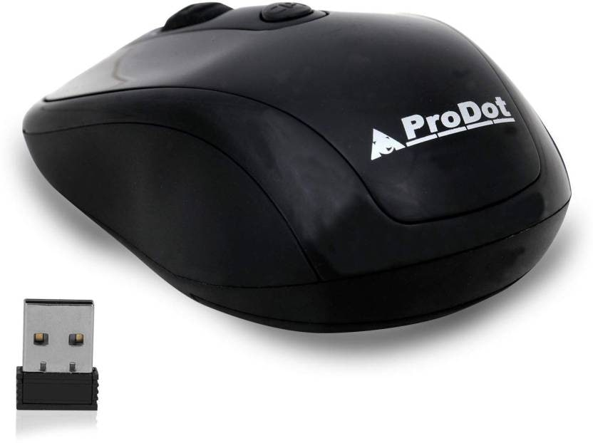 Prodot WM-145 WIRELESS MICE( SOLID BLACK)