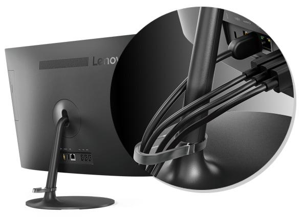 "Lenovo AIO 310 [F0CL001GIN] CDC 6TH/4GB/1TB/DVD/DOS/WIRED/19.5"""