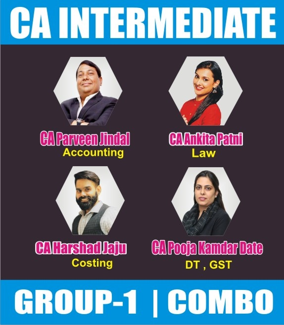 CA INTERMEDIATE COMBO Group 1 Combo Full Lectures(PJ)