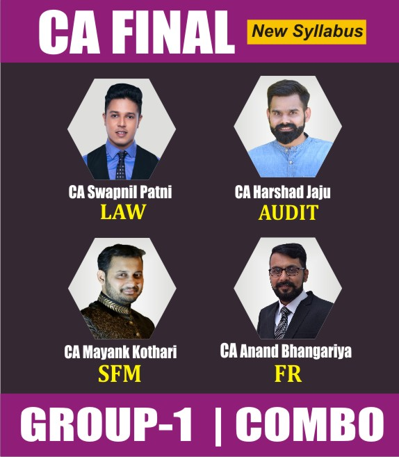 CA FINAL NEW SYLLABUS COMBO Group 1 Combo Full Lectures