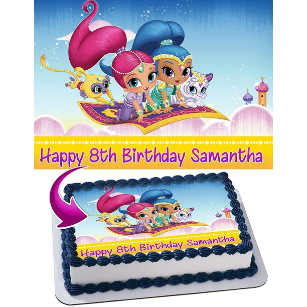 Marvino Edible Cake Topper Decorative Sheet Sugar Frosting Icing Cake Photo Decoration Ready To Use 28X20cms (Design 17)