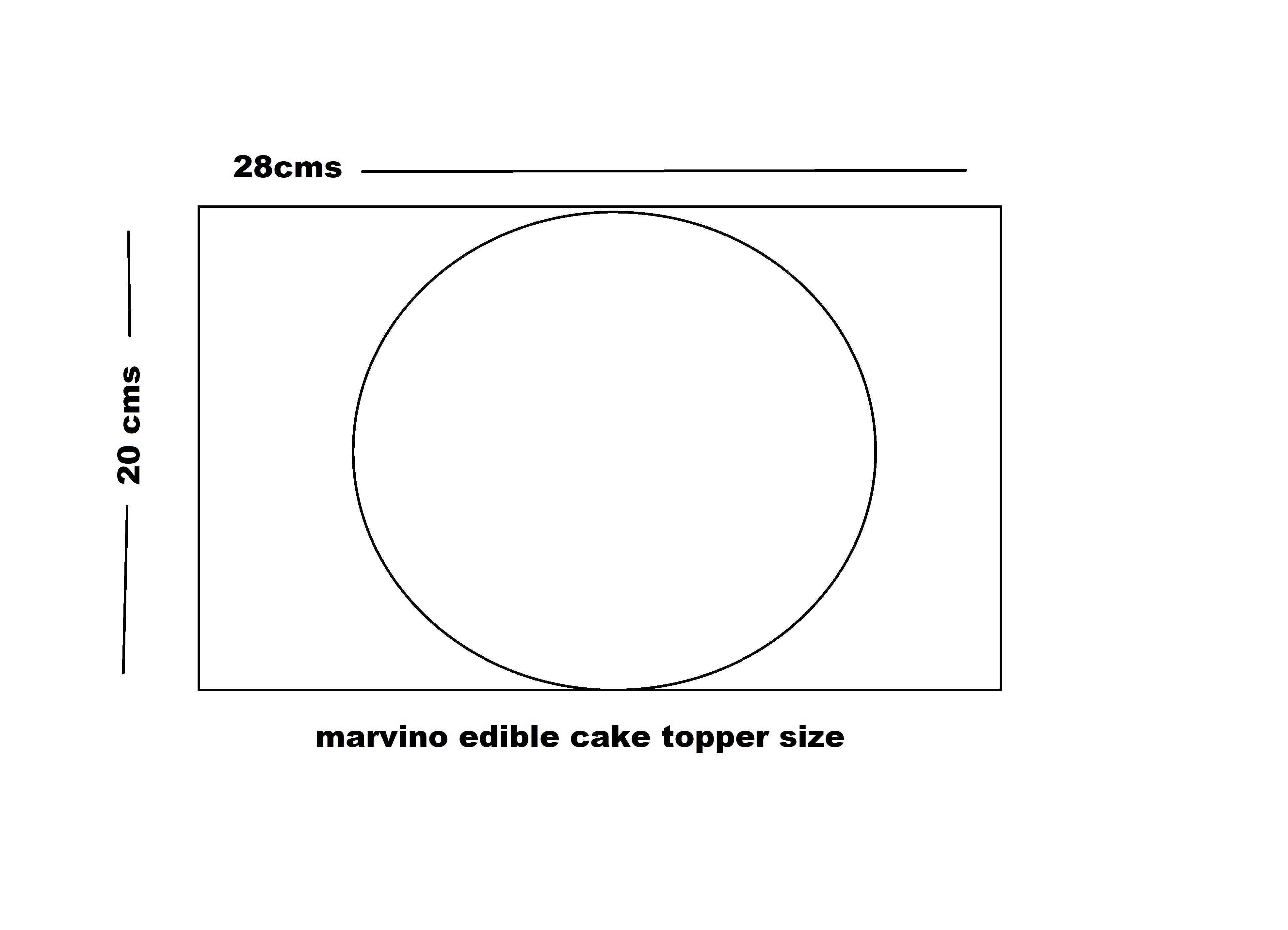 Marvino Edible Cake Topper Decorative Sheet Sugar Frosting Icing Cake Photo Decoration Ready To Use 28X20cms (Design 6)
