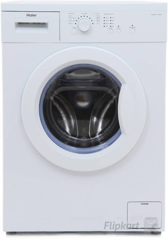 Haier 6 Kg Fully Automatic Front Load Washing Machine White  (HW60-1010AS)
