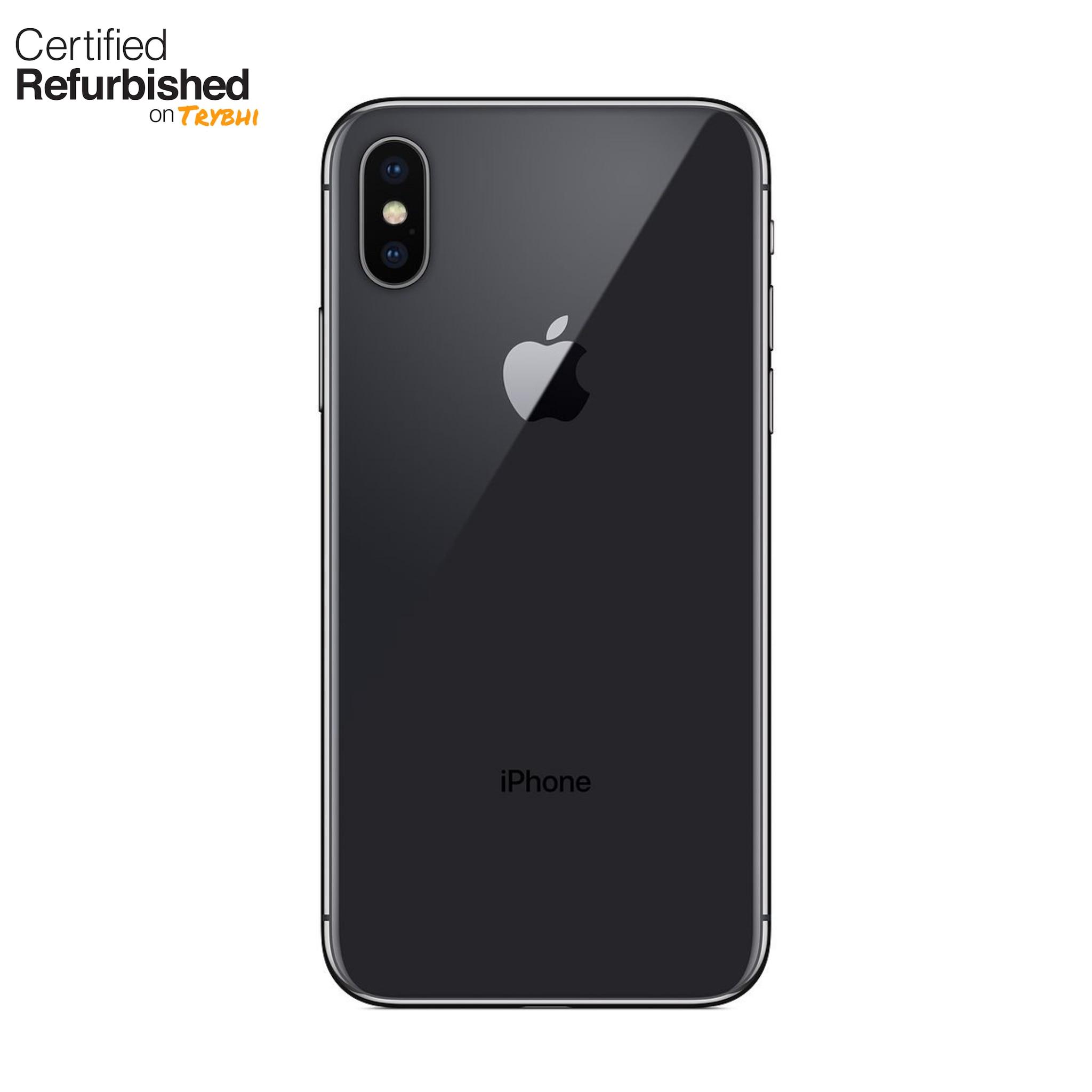 Refurbished Apple IPhone X 64GB - Space Gray (Unlocked)