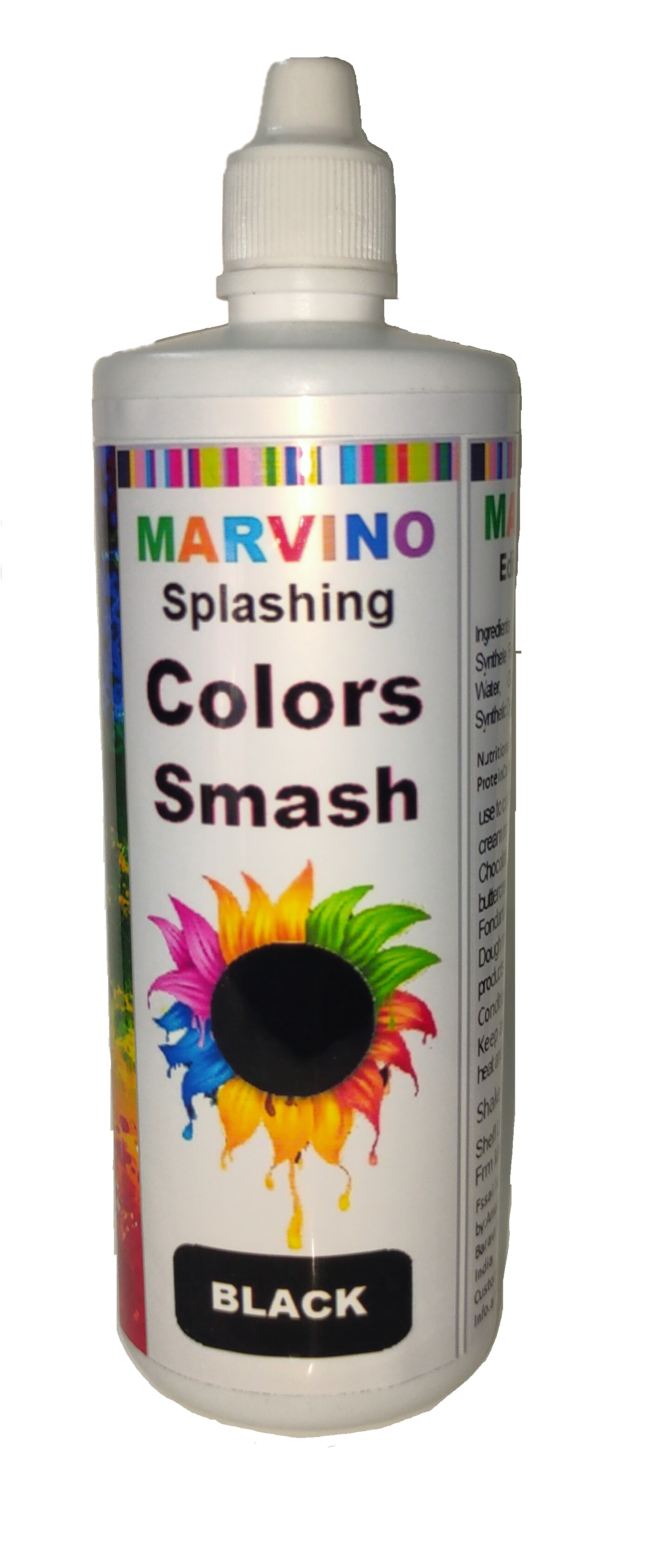 Marvino Splashing Smash Color For Cakes, Whip Cream (Smash Color Pack Of 10)