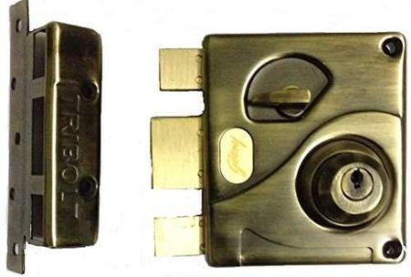 Antique Brass Godrej Ultra Tribolt 1CK Deadbolt