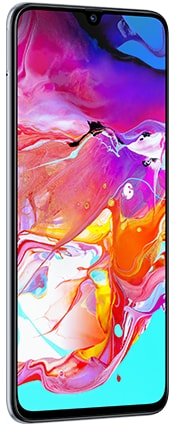 Samsung Galaxy A70 (RAM 6 GB, 128 GB, White)