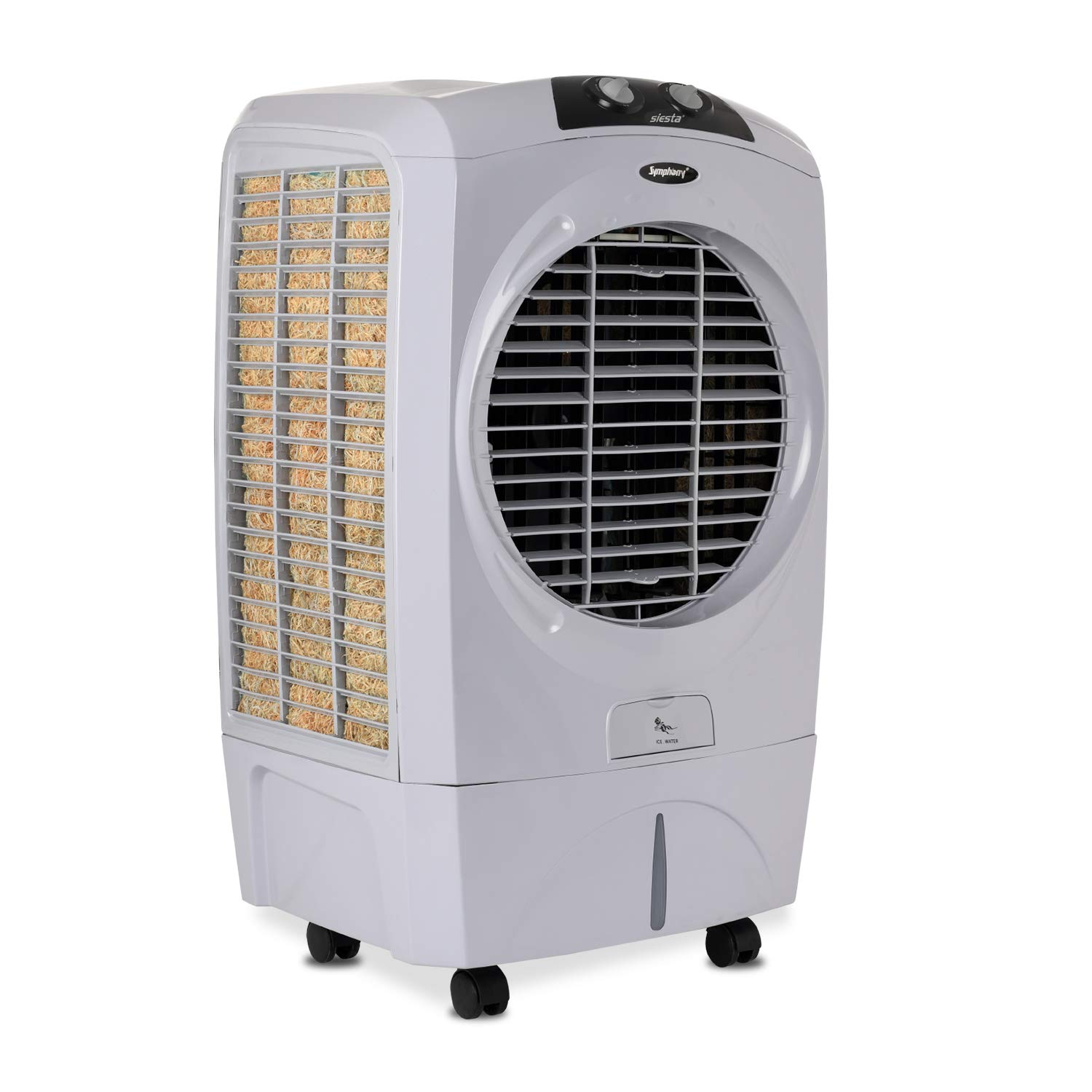 Symphony SIESTA Desert Air Cooler 45-litres With Cool Flow Dispenser, Powerful Fan, Specially Designed Grill For Better Air Flow & Low Power Consumpti