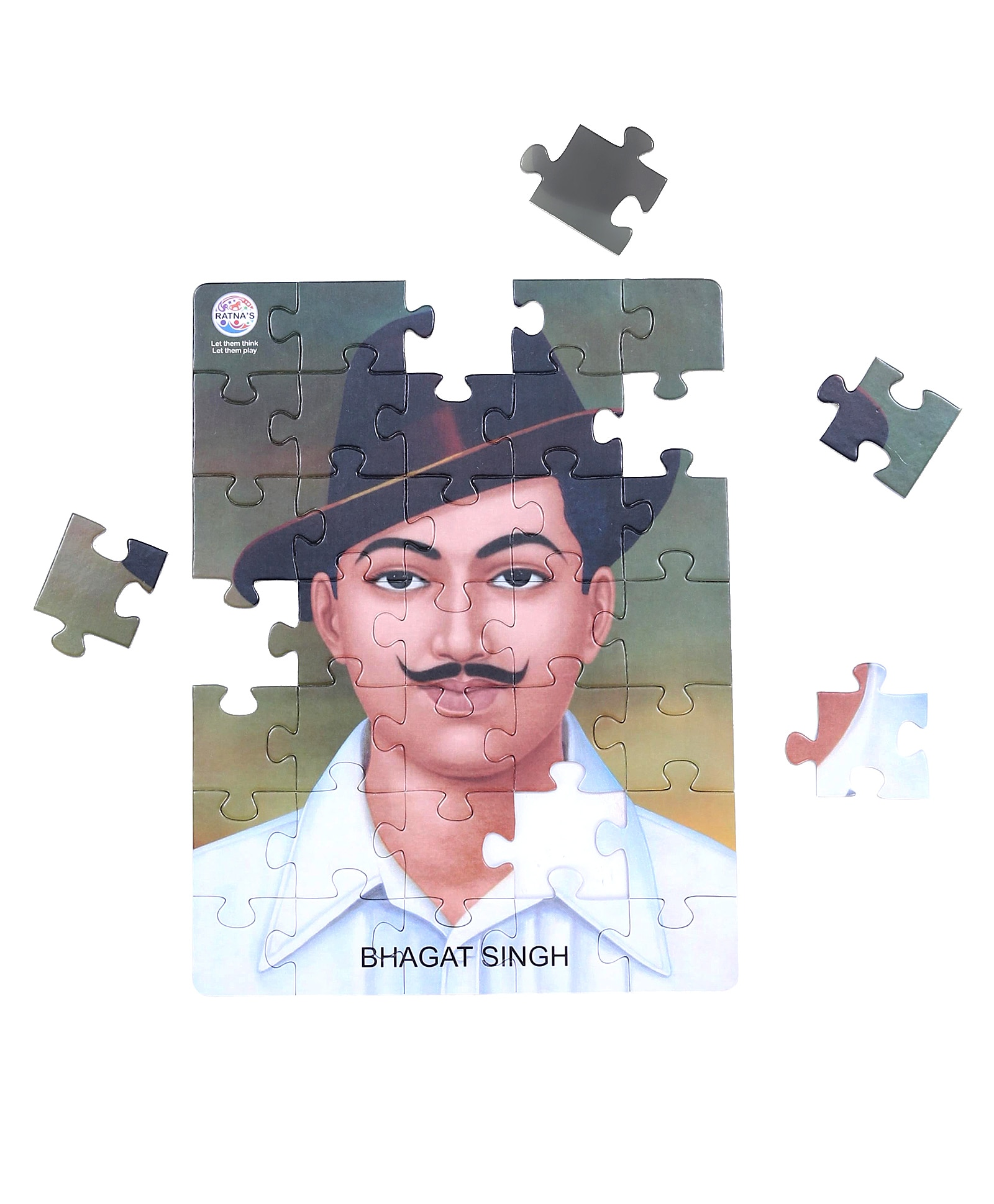 Freedom Fighter Jigsaw Puzzle