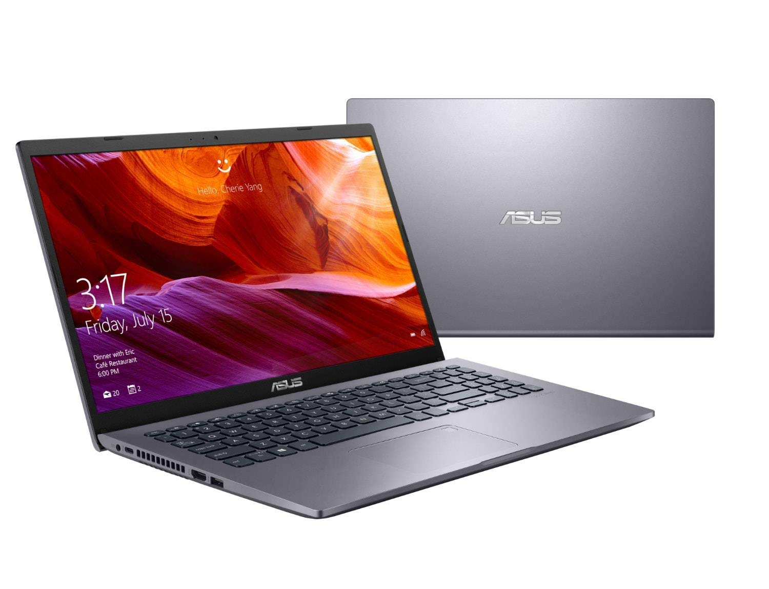 ASUS Vivobook X509UA-EJ246T Intel® Pentium® Gold 4417U 2.3 GHz, 4GB DDR4, 256GB SSD, 15.6 Full HD, Intel HD 610 Graphics, Windows 10 Home,