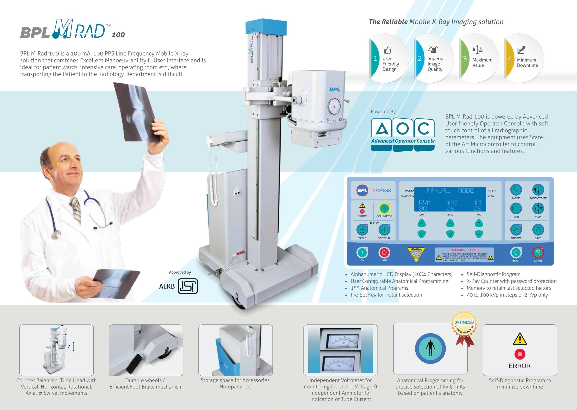 X Ray Machines (bpl mrad 100x)