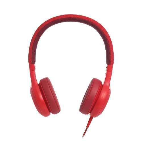 JBL K951268 Red On-Ear Headphones With Mic, E35