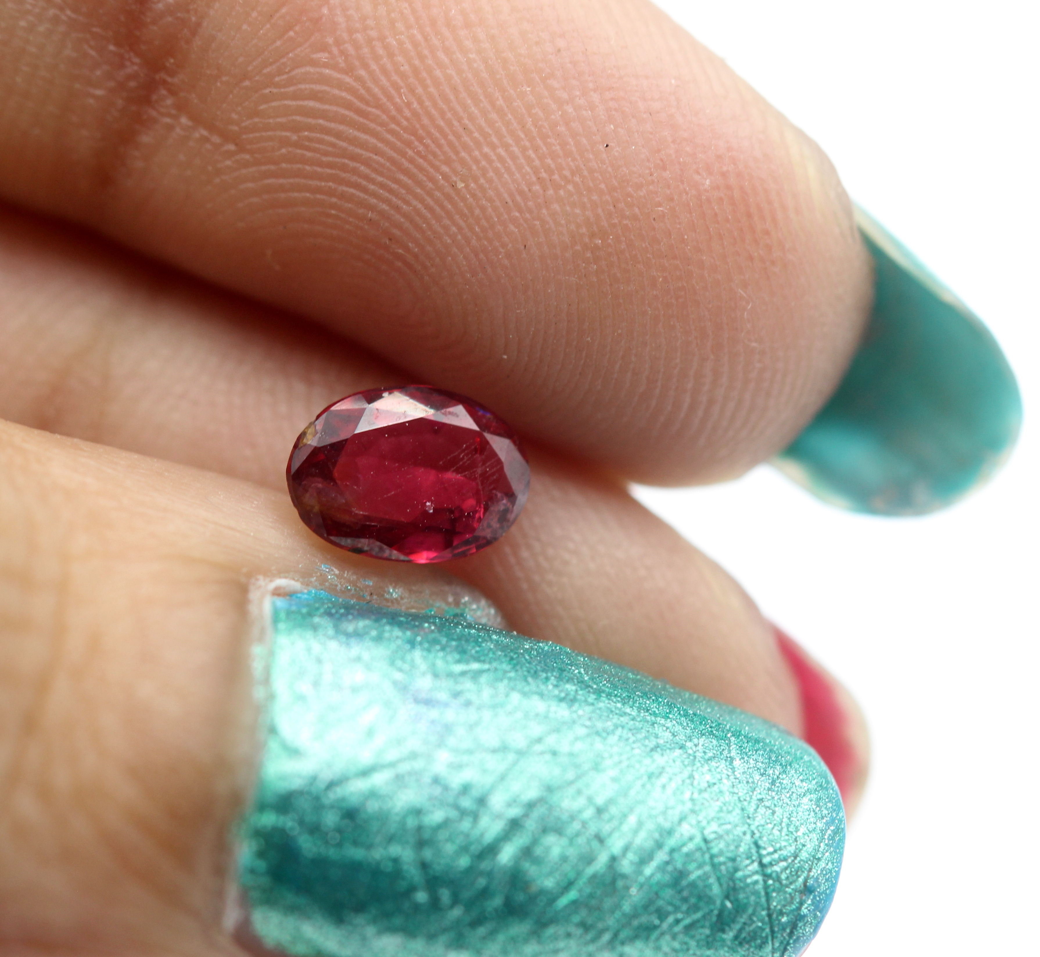 0.78 Ct Spinel Burma Oval Cut Natural Gemstone Certified