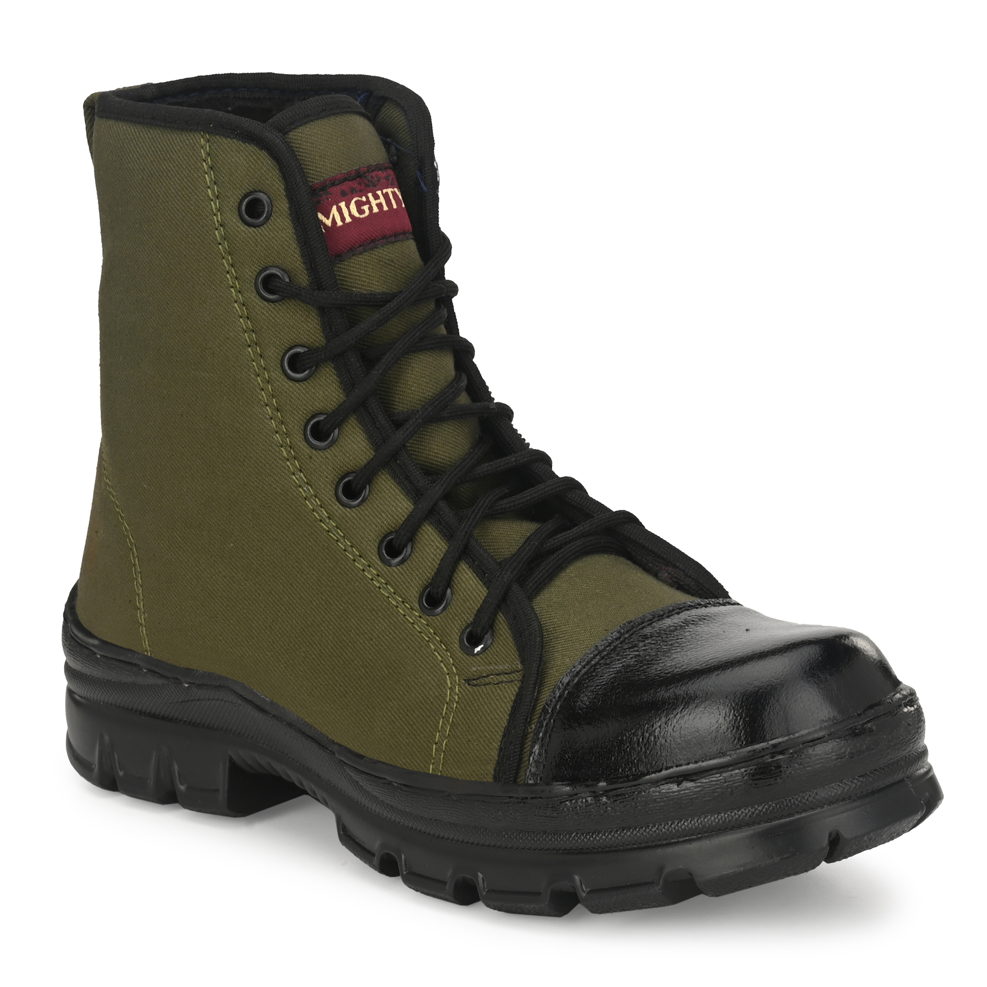Almighty Green Army Jungle Men's Boot FRE01GREE (GREEN, 6-11, 8 PAIR)
