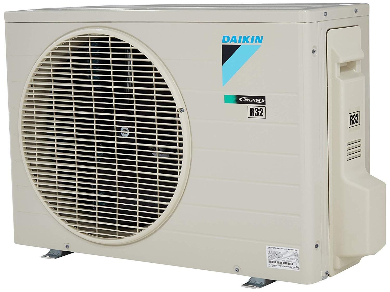 Daikin 1 Ton 5 Star Inverter Split AC (Copper, FTKF35TV, White)