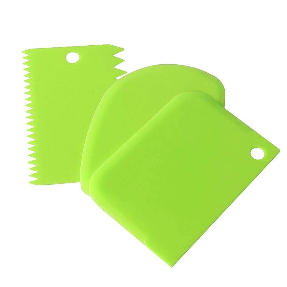 Cake Scraper Smoother Decorating Tools Set Of 3pcs (amazingshop.in)