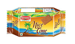 BRITTANIA NICE TIME BISCUITS - 73 G