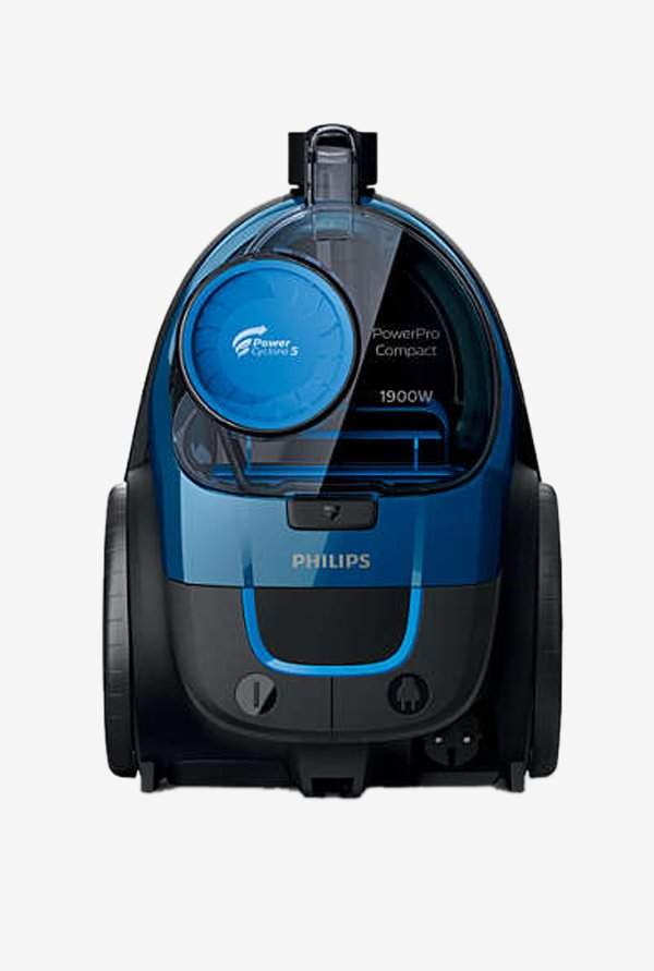 Philips PowerPro Compact FC9352/01 370 W Canister Vacuum Cleaner (Blue)