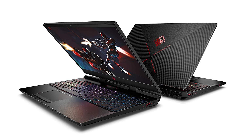 HP Omen Core I7 9th Gen 15.6-inch FHD Gaming Laptop (8GB/1TB HDD + 256GB SSD/Windows 10/NVIDIA GTX 1650 4GB Graphics/Shadow Black), 15-dc1093TX HP Om