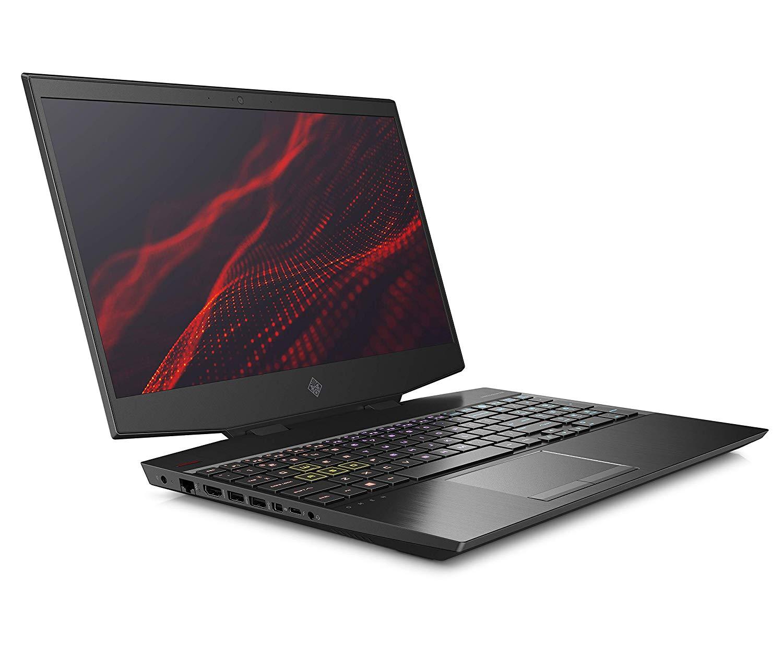 HP Omen 15-dh0136TX 2019 15.6-inch Gaming Laptop (9th Gen I7-9750H/16GB/1TB HDD + 512GB SSD/Windows 10/6GB NVIDIA GTX 1660Ti Graphics), Shadow Black
