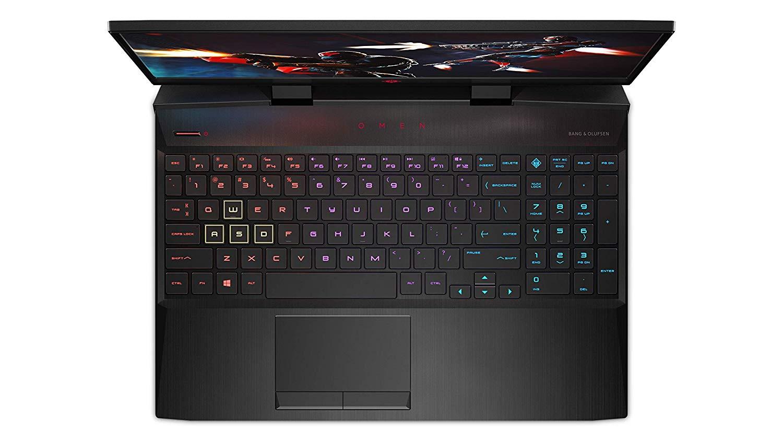 HP Omen Core I5 9th Gen 15.6-inch FHD Gaming Laptop (8GB/1TB HDD + 256GB SSD/Windows 10/NVIDIA GTX 1650 4GB Graphics/Shadow Black), 15-dc1092TX