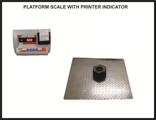 1500x1500 3000kg - 500g.m Heavy Duty Platform Scales With Printer Indicator