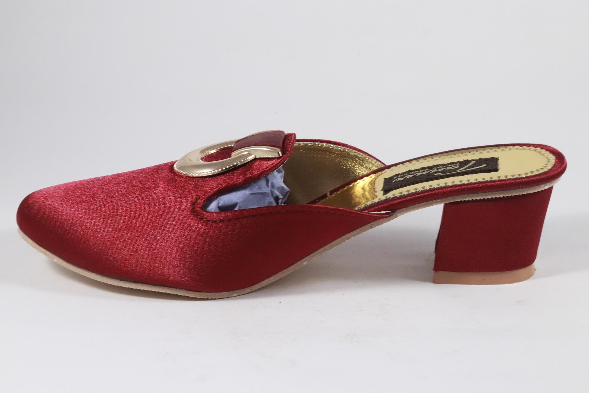 AMRIT FOOTCARE FANCY Shoes, Belliles AMRIT-163 (RED, 7-10, 6 PAIR)