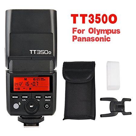 Godox TT350O Speedlite High-Speed Sync External TTL For OLYMPUS/PANASONIC Mirrorless Cameras