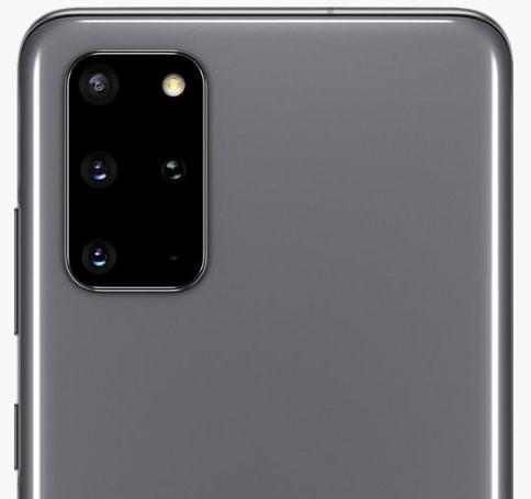 Samsung Galaxy S20+ (RAM 8 GB, 128 GB, Cosmic Grey)