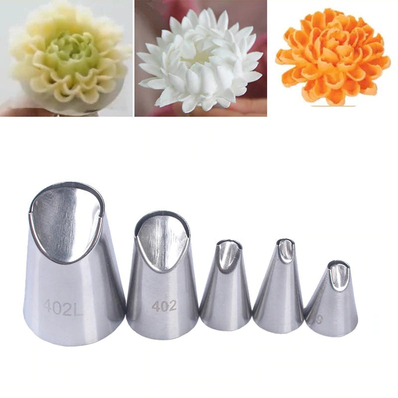 Flower Nozzle Tip Pack Of 5