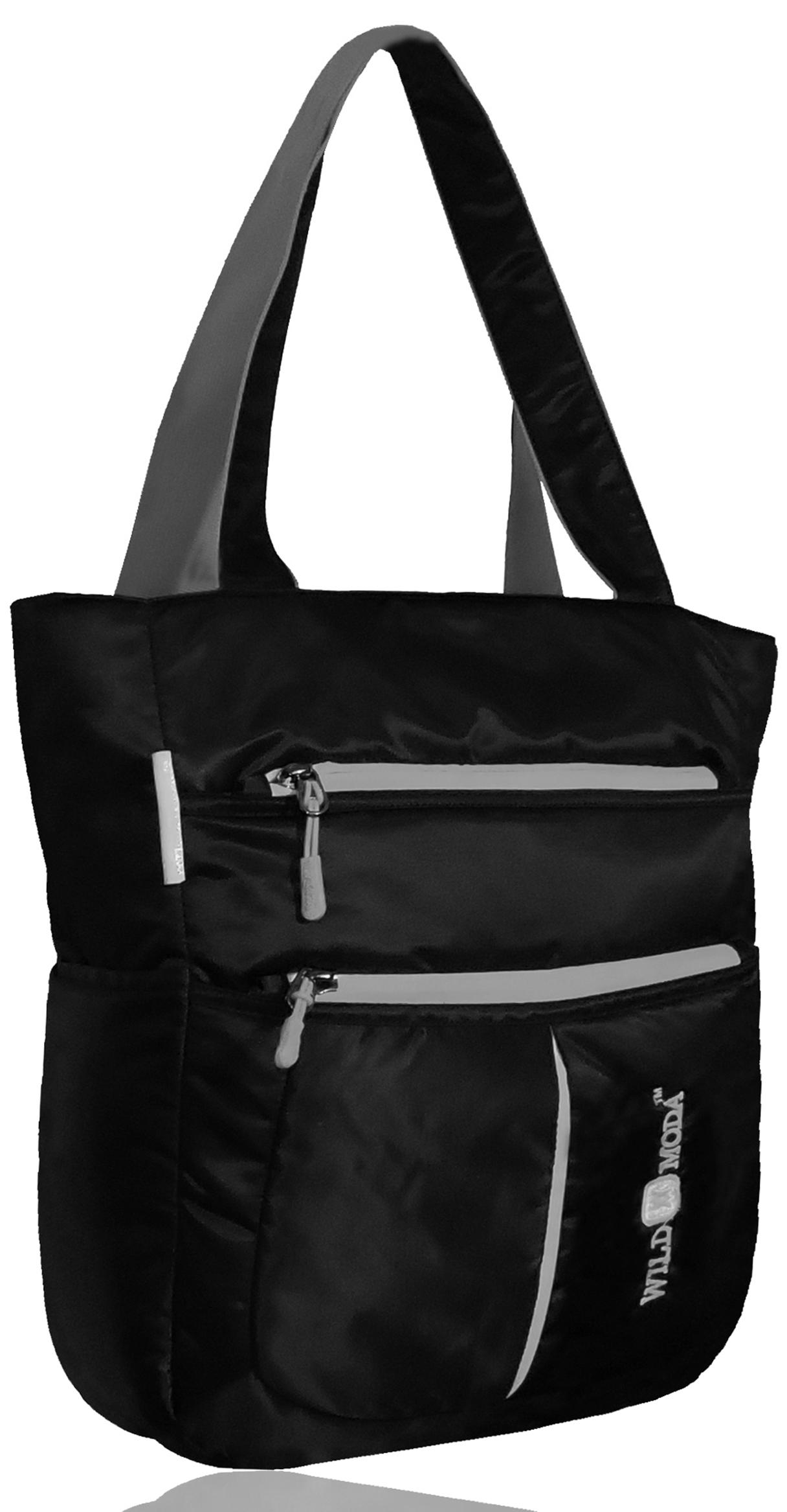 Wildmoda Women Black Shoulder Bag