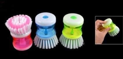santech car alloy rim cleaner brush cleaning brush for