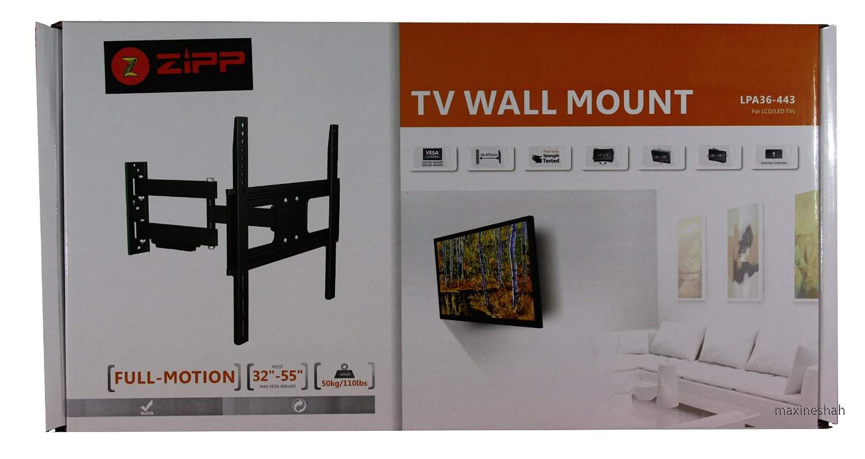 32 To 55 Tilt TV LCD LED Monitor Wall Mount Stand 32 37 40 42 46 50 52 Zipp