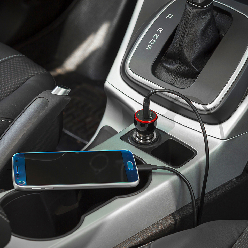Anker PowerDrive+ 1, 24W USB Car Charger (Black)