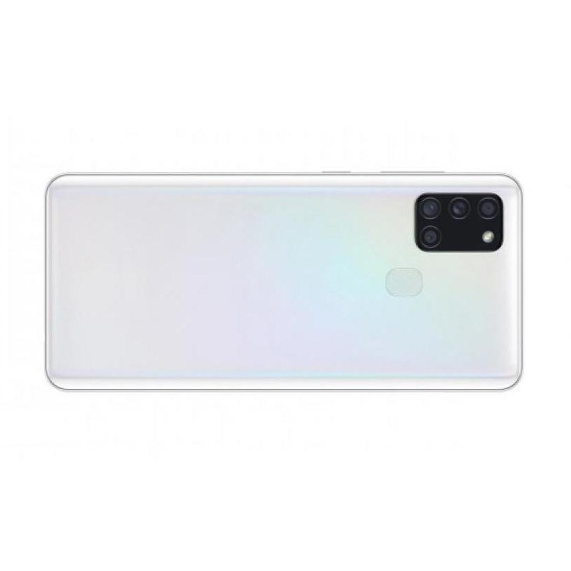 Samsung Galaxy A21s Compatible Full Body Replacement Housing (White)
