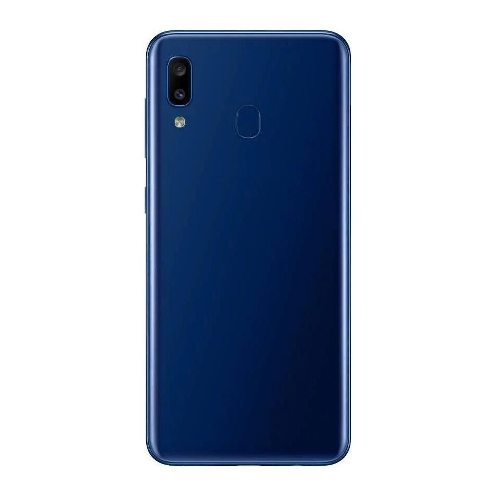 Samsung Galaxy A20 Compatible Full Body Replacement Housing (Blue)