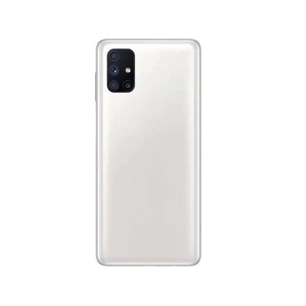 Samsung Galaxy M51 Compatible Full Body Replacement Housing (White)
