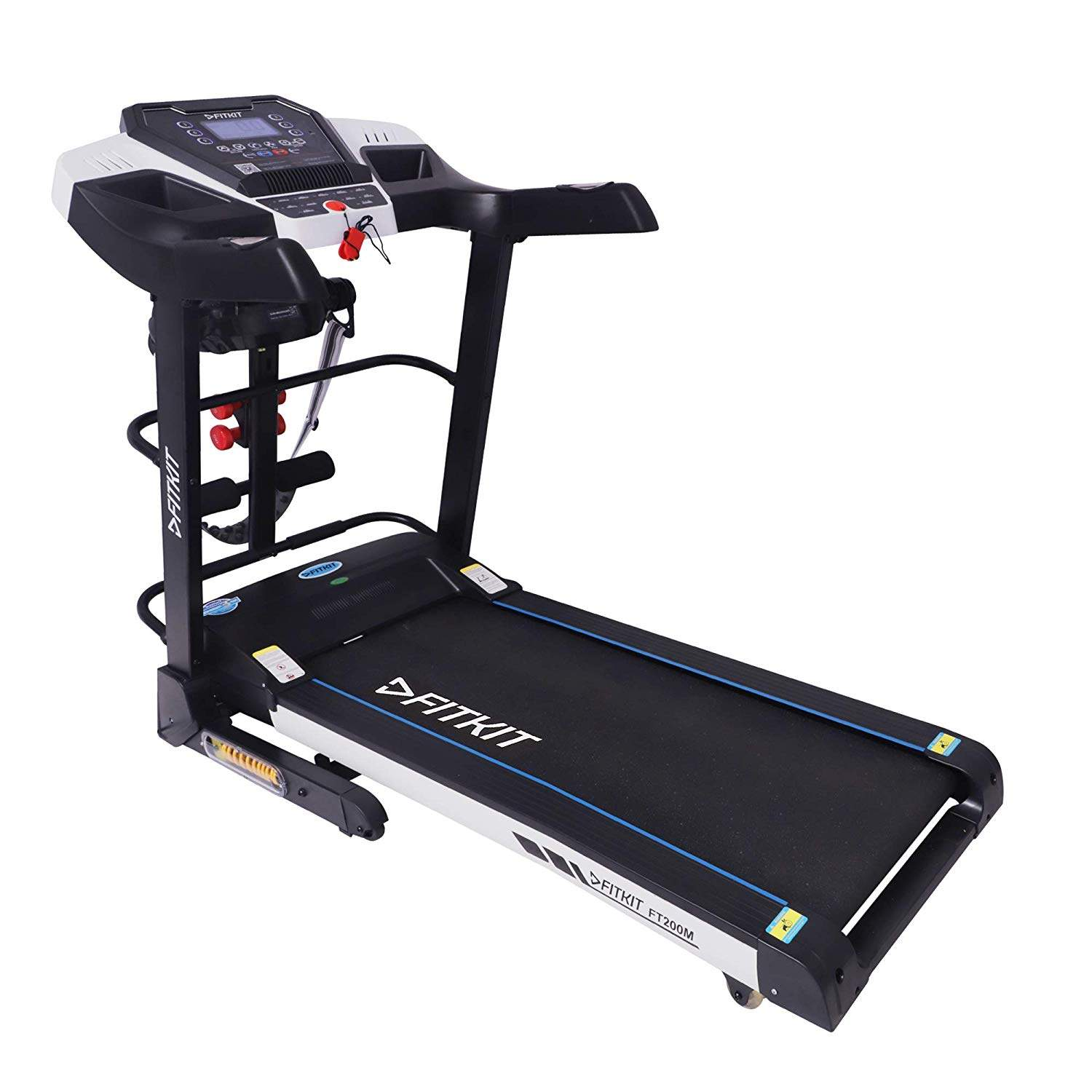 Fitkit FT200 Series Motorized Treadmill With Auto Lubrication And Auto Inclination (Free Installation)