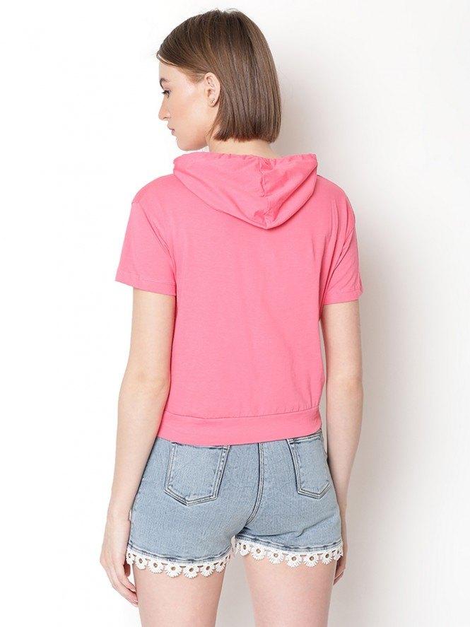 Woman History Pink Crop-top