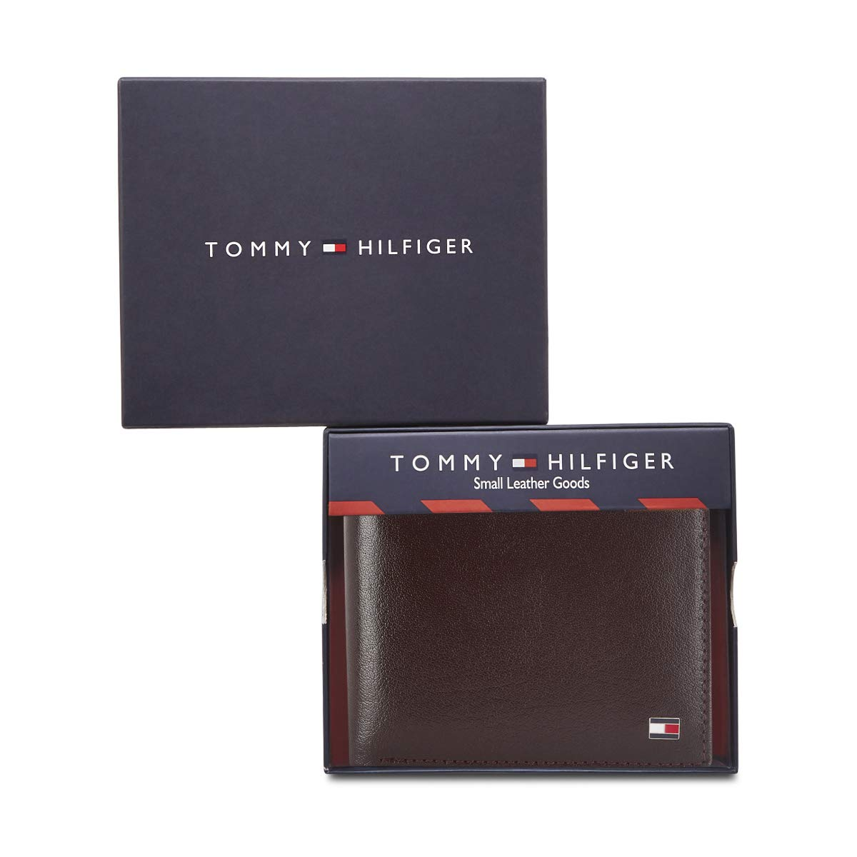 Tommy Hilfiger GLOBAL COIN BROWN WALLET - TH/JUVENTUSGCW03 - 19