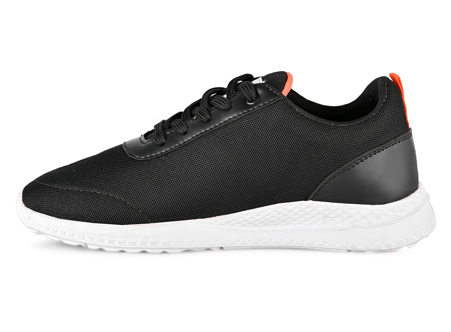 JK PORT Comfortable And Trendy Sports Shoes JKPSB55BLK Are Reliable For Any Sports (Black,7-10,8 PAIR)