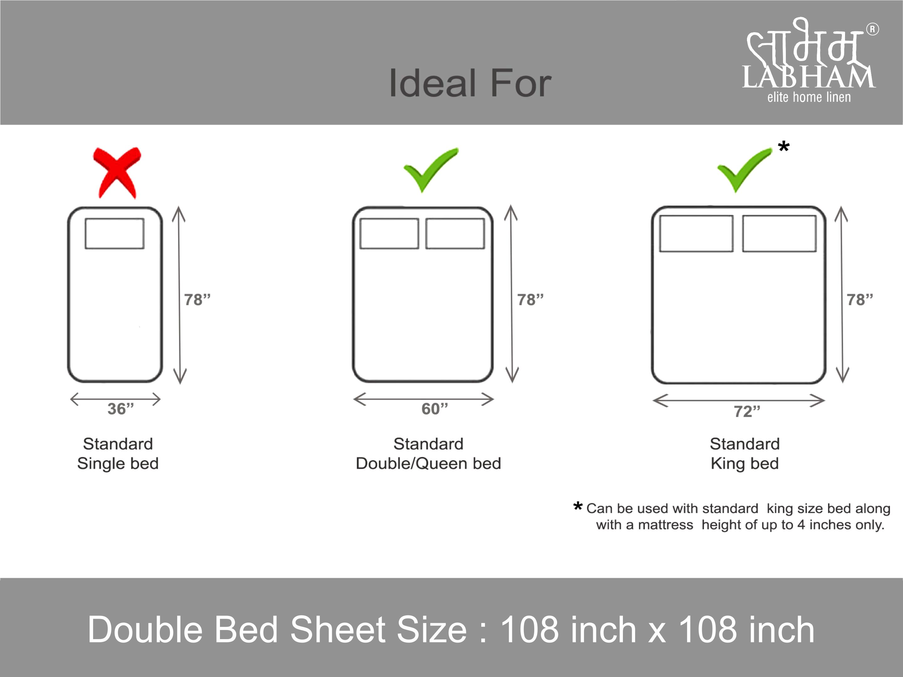 BRAWN BEDSHEETS (DESIGN 9,274cm x 274cm,3 PIECE (1 BEDSHEET + 2 PILLOW COVERS))