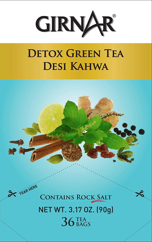 Girnar Detox Desi Kahwa Green Tea 36 Pc