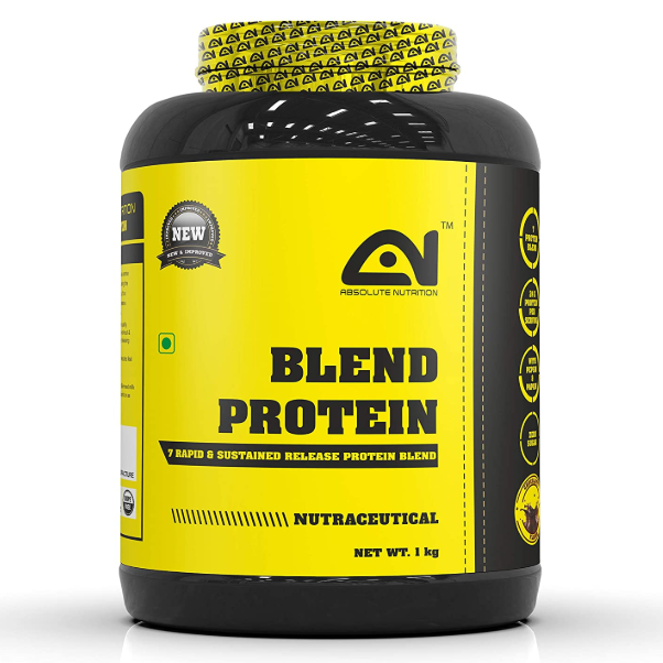 Absolute Nutrition Blend Protein (Chocolate, 1kg)