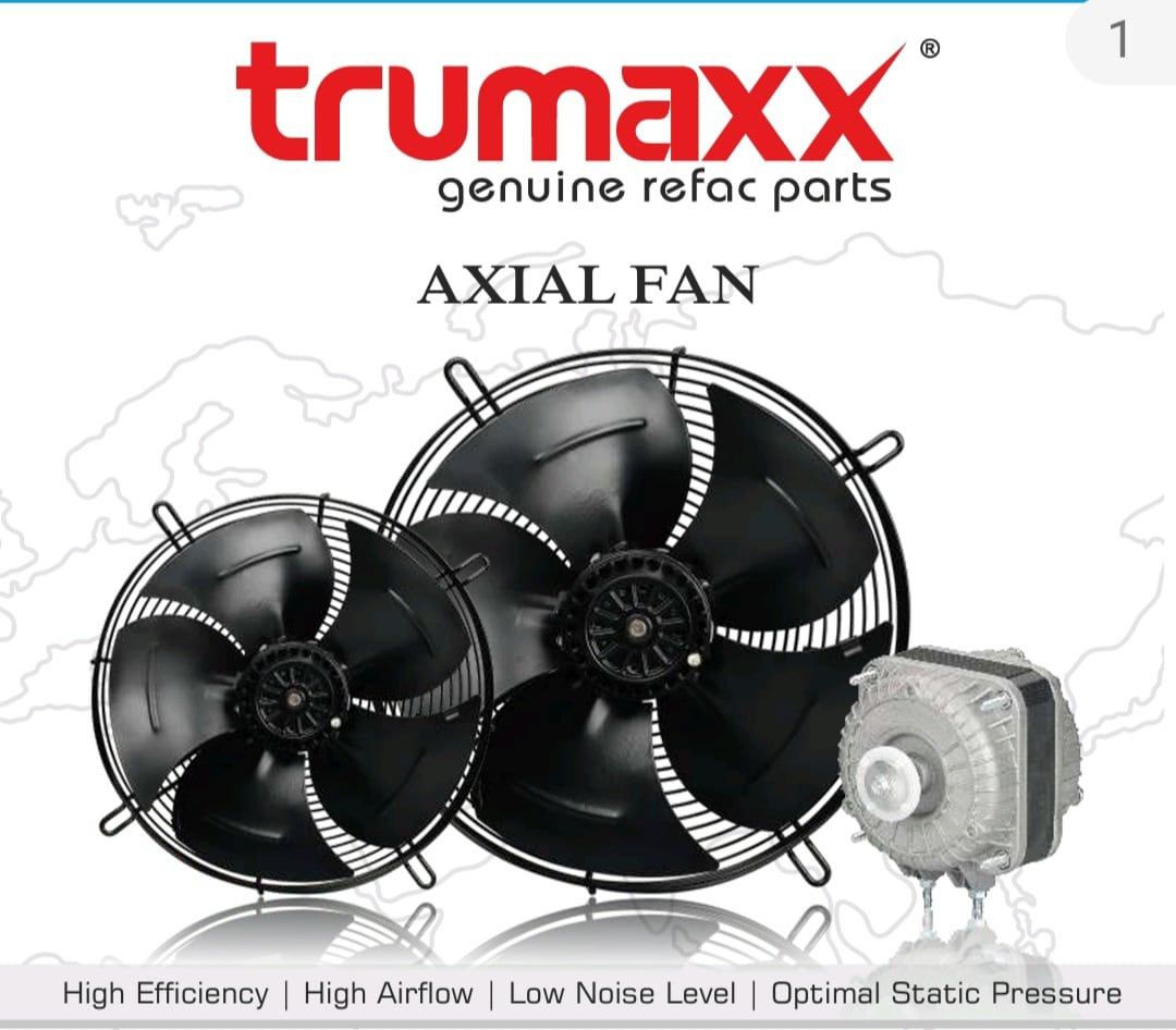 "TRUMAXX AXIAL FAN (4D 450 B)(18"")"