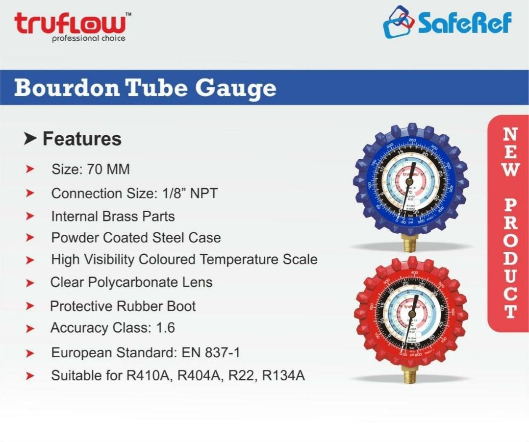 TRUFLOW PRESSURE GUAGE (-30 TO 500PSI)